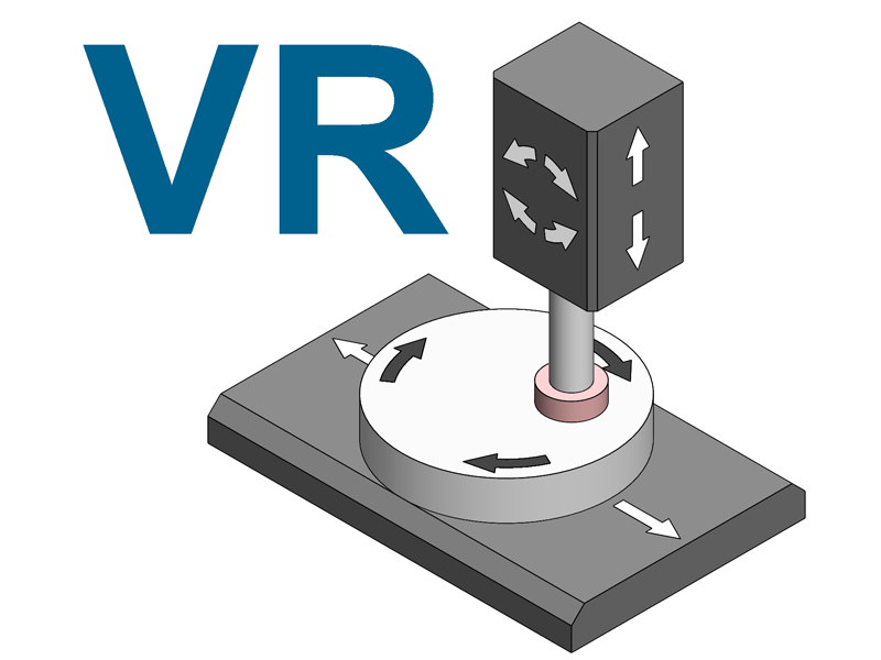 Lodi Grinding Machines RETTIFICATRICE TAVOLA ROTANTE MANDRINO INCLINABILE modello VR