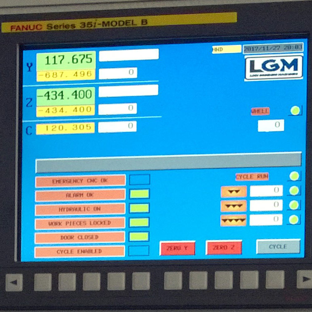 Lodi Grinding Machines Software di Gestione