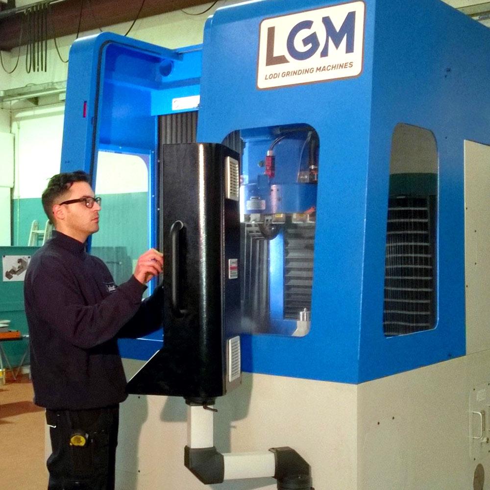 Lodi Grinding Machines Collaudo Macchine Utensili